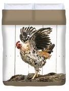 Chickens In Bird In Hand 2 Duvet Cover