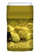 Chicks Duvet Cover