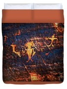 Chief Among Warriors Duvet Cover
