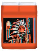 Chief Brill Yount Duvet Cover