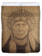 Chief Joseph  Duvet Cover