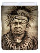 Chief Keokuk  Duvet Cover
