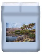 Chief Timothy Reflections Duvet Cover