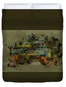 Chieftain Tank Abstract Duvet Cover