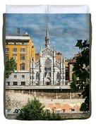 Chiesa Del Sacro Cuore Del Suffragio Duvet Cover