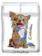 Chihuahua Pop Art Duvet Cover