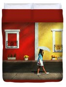Child - A Bright Sunny Day  Duvet Cover