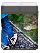 Child Reflection Duvet Cover