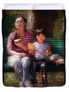 Children - Balanced Meal Duvet Cover
