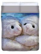 Children - Toys - I Love Ewe Duvet Cover