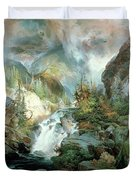 Children Of The Mountain Duvet Cover