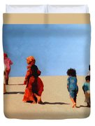 Children Of The Sinai Duvet Cover