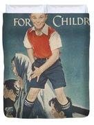 Children's Crusade For Children Duvet Cover