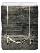 Child's Swing On An Old Farm Duvet Cover
