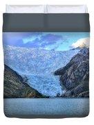 Chilean Fjords Chile Duvet Cover
