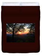 Chilhowee Sunset Duvet Cover