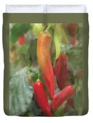 Chili Peppers Duvet Cover