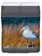 Chilling Seagull Duvet Cover