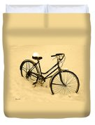 Chilly Ride Duvet Cover