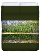 Chimney Pond Reflections 2 Duvet Cover