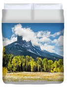 Chimney Rock Autumn Duvet Cover