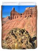 Chimney Rock II Duvet Cover