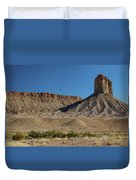 Chimney Rock Towaoc Colorado Duvet Cover