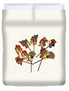 China - Land Of Many Faces Duvet Cover by Christine Till