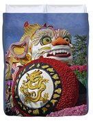China Airlines Parade Float Duvet Cover