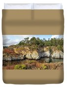 China Cove, Point Lobos Duvet Cover by Yair Karelic