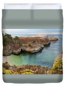 China Cove Duvet Cover by Yair Karelic