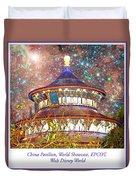China Pavilion, World Showcase, Epcot, Walt Disney World Duvet Cover
