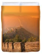 China, The Great Wall Duvet Cover