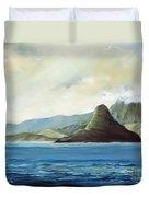 Chinamans Hat Duvet Cover by Han Choi - Printscapes