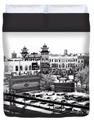 Chinatown Chicago 4 Duvet Cover