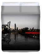 Chinatown Contrast Duvet Cover
