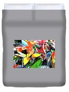 Chinatown Toys Duvet Cover