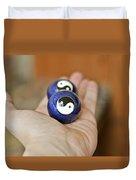 Chineese Stress Balls Duvet Cover
