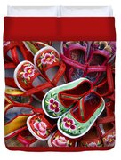 Chinese Baby Shoes Duvet Cover