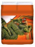 Chinese Dragon Art Duvet Cover