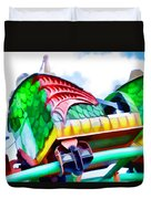 Chinese Dragon Ride 4 Duvet Cover