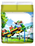 Chinese Dragon Ride  5 Duvet Cover