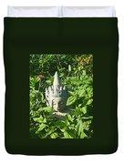 Chinese Garden Gnome Duvet Cover