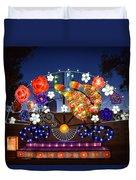 Chinese Lantern Festival Duvet Cover