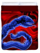 Chinese Serpent Rising Duvet Cover