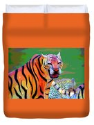 Chinese Tiger 2 Duvet Cover