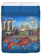 Chingay Parade Duvet Cover