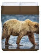 Chinitna Bay Brown Bear Duvet Cover