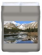 Chinns Lake Reflections 3 Duvet Cover