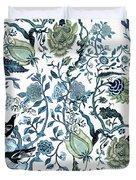 Chinoiserie Blue Duvet Cover